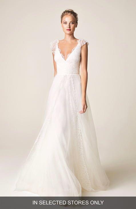 Wedding Dresses Bridal Gowns Nordstrom Wedding Dress Cap Sleeves Wedding Dress Necklines Wedding Dress Styles