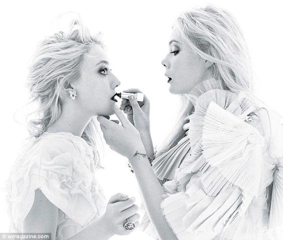 Dakota and Elle Fanning for W Magazine