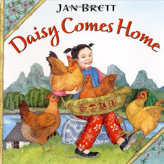 Amazon.com: Daisy Comes Home (9780756950521) good go-along book for FIAR Story About Ping: Books Worth Reading, Jan Brett Books, Brett Artist Author, Reading Books, Childrens Books, Book Illustration, Children S Book, School Authors Jan Brett, Picture Book