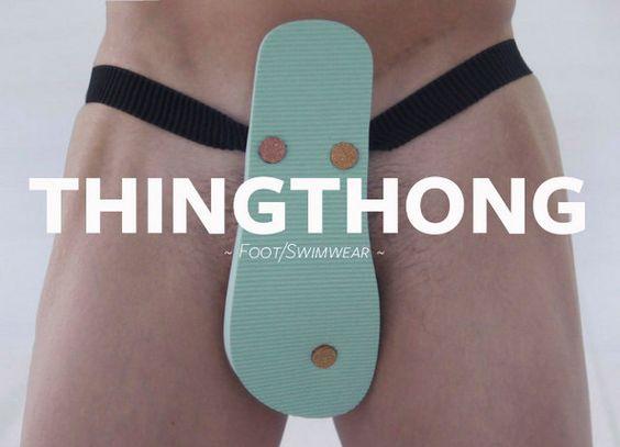 Flip-Flop That Doubles As An Emergency Swimsuit