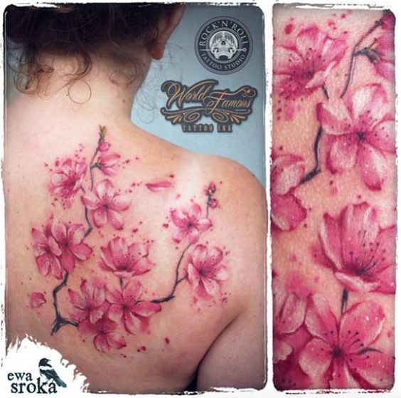 gorgeous-cherry-blossom-tattoo