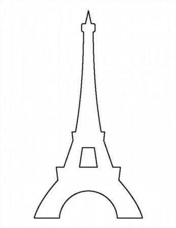 Желаете окунуться в мир тонкой французской эстетики или напомнить о недавнем путешествии своих близких? Тогда воспользуйтесь шаблоном эйфелевой башни для вырезания из бумаги, которые предлож