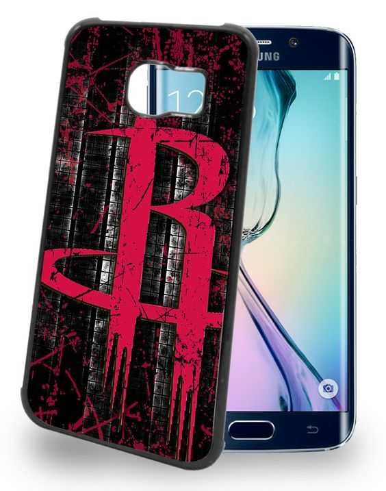 Houston Rockets Cell Phone Hard Case for Samsung Galaxy S6, Samsung Galaxy S6 Edge