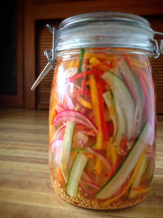 refrigerator pickled salad