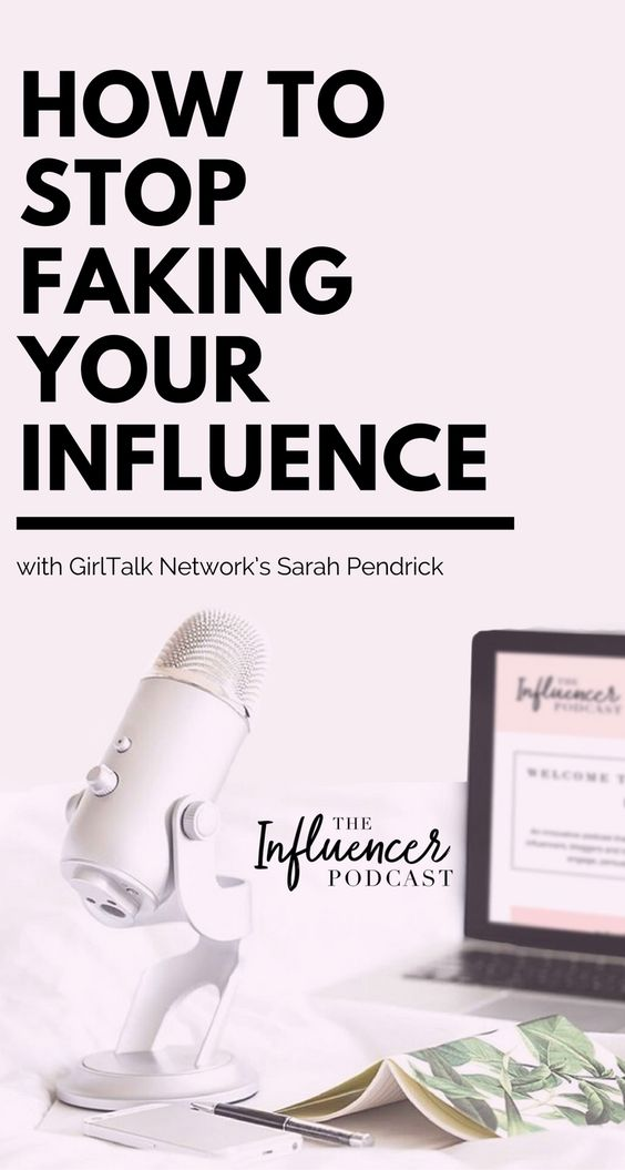 Learn how to stop faking your influence. The Influencer podcast. social media influence, social network social media marketing, influencer marketing, social media strategy, social influence, social media marketing strategy, Sarah Pendrick, Julie Solomon.