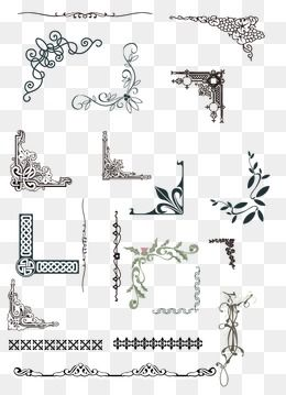 Lace Pattern Vector Border Textures Patterns Border Pattern