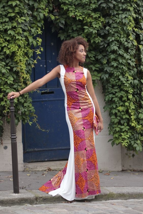 Nanawax ~African fashion, Ankara, kitenge, African women dresses, African prints, African men's fashion, Nigerian style, Ghanaian fashion ~DKK: