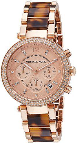 Michael Kors Women's Parker Brown Watch MK5538 Michael Kors