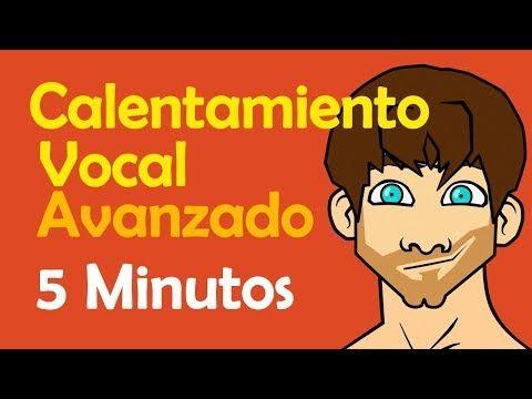 Calentamiento Vocal Avanzado Voz Preparada En 5 Minutos Youtube Clases Canto Consejos De Canto Calentamiento