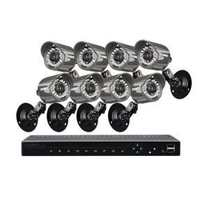 1 TB 8 Camera Surveillance Kit by Lorex. $1049.00. LH3361001C8B Features: -Surveillance kit.-Ensures surveillance and security.-Full HD display output resolution of 1080p.-Easy to connect.-Super resolution night vision. Color/Finish: -Automatic infrared light filtering technology provides accurate color reproduction. Specifications: -Weatherproof cameras deliver 600-660TV lines resolution.