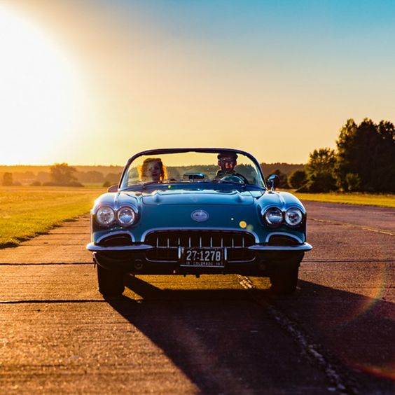 the 50's- Corvette C1 (1960) – Driving Experience & The End   Fotostudio Gifhorn