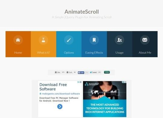 33 Enticing Scrolling Effects JQuery Plugins