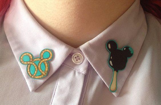 Disneyland Treat Collar Pin - £10.12 https://www.etsy.com/uk/listing/244156992/handmade-kawaii-disneyland-treat-collar?ref=shop_home_active_8