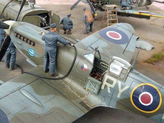 Supermarine Spitfire Mk Ix Supermarine Spitfire Spitfire Model Model Planes