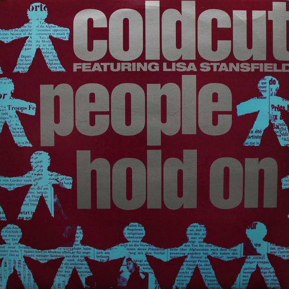 Coldcut, Lisa Stansfield – People Hold On (single cover art)