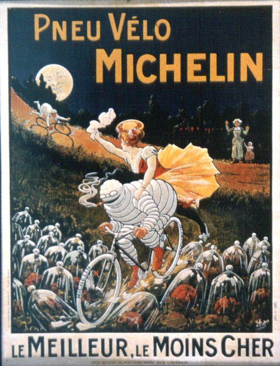Los inicios bicicletudos de Michelin