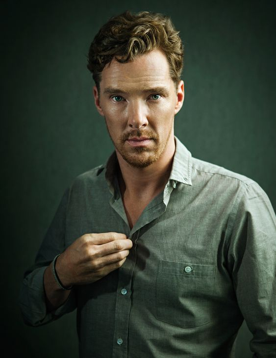 Award winning, 10 minute cover shoot with actor Benedict Cumberbatch.