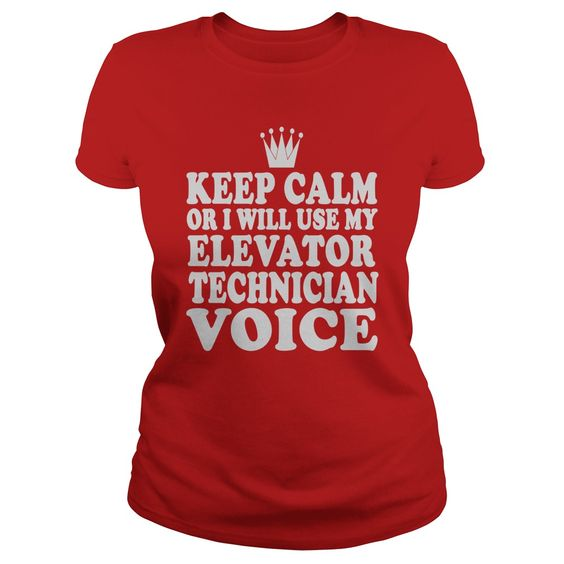 Elevator Technician Voice T-Shirts, Hoodies Get It Now - engineer manager job description