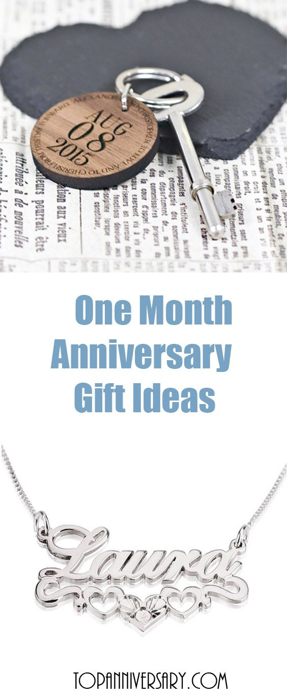 Lots Of One Month Anniversary Gift Ideas For Him And Her Annivers One Month Anniversary Anniversary Gift Ideas For Him Boyfriend Girlfriend Anniversary Gifts