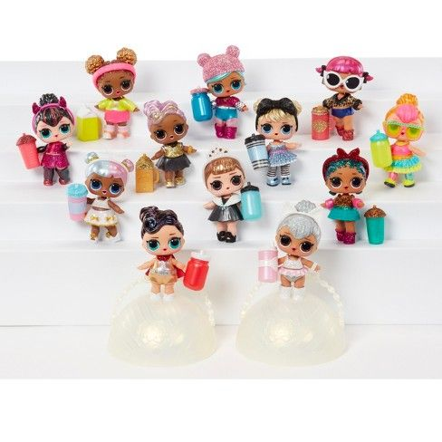 L O L Surprise Dolls Glitter Series 2 Wave 1 Glam And Glitter Lol Dolls Toys For Girls