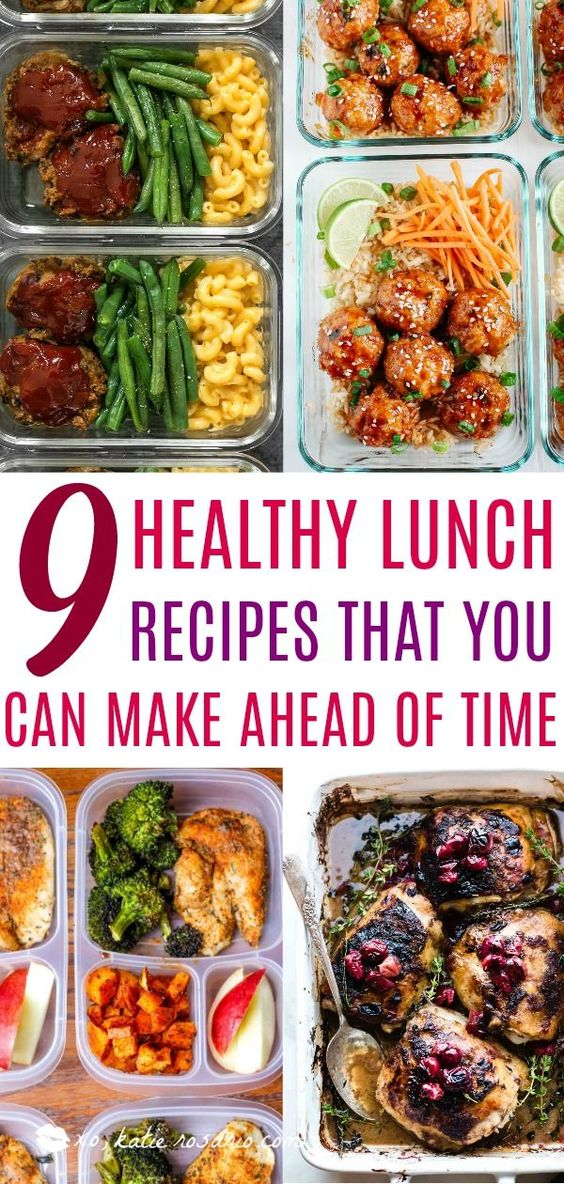 9 Easy Meal Prep Lunches to Make This Fall - XO, Katie Rosario