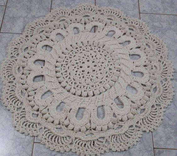 Tapete | Arte em Crochê Tati | Elo7