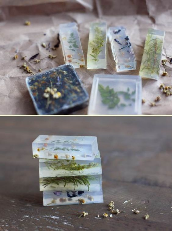 Flower soaps | DIY Stuff: