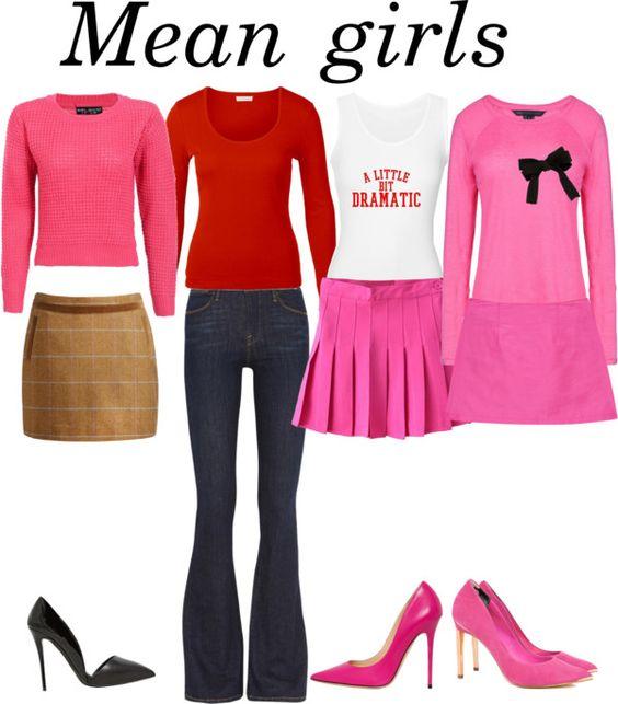 Resultado de imagem para mean girls polyvore