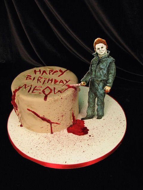 Murder Cake Topper