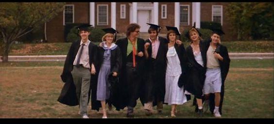 Graduation gowns.