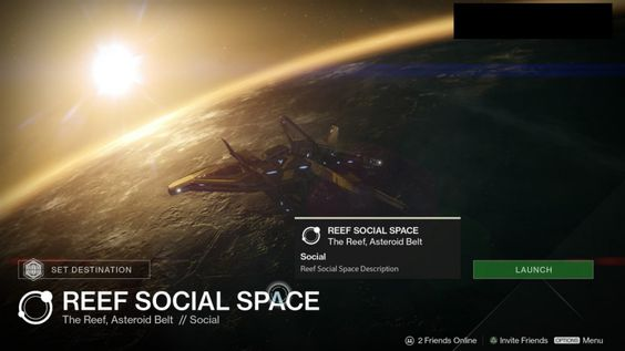 #Destiny's House of Wolves: The Reef will be potentially a new Social Space for your guardians!