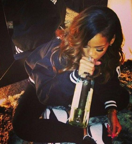 Rihanna Wine To Go