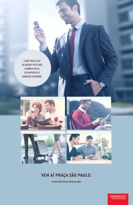 anuncio empreendimento imobiliário Odebrecht