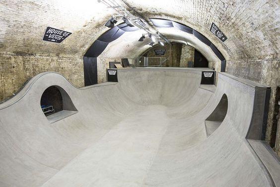 Casa da Vans Londres,Cortesia de Tim Greatrex