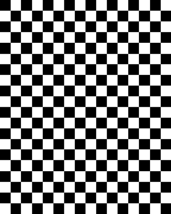 Obsessed with checkerboard.