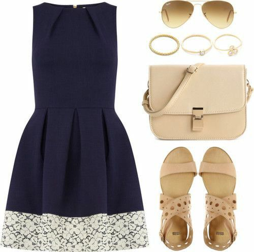 Cute teen outfit, the dress though ^_^