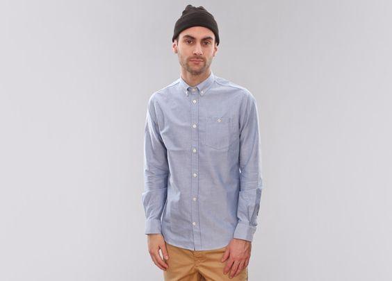 Norse Projects Anton Oxford (Navy) - NEW - #Sneaker #streetwear #norseprojects #fashion menswear #asphaltgold