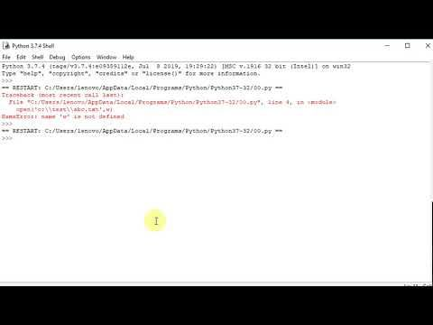 Python program to check whether a file exists | Python programming, Python,  Computer programming
