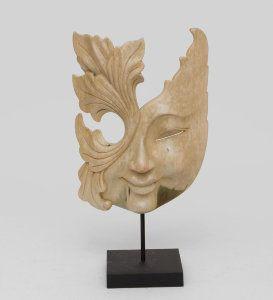 "Маска ""Тропическая бриония"", арт. 402806 Размер:33 смМатериал:деревоПроизводство:Индонезия"