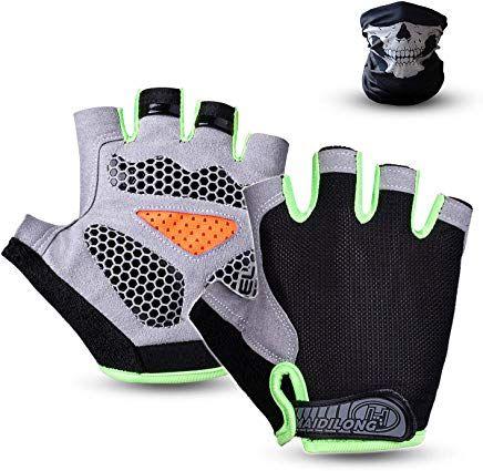 Suxman Halbfinger Handschuhe Fahrradhandschuhe Fitness Handschuhe