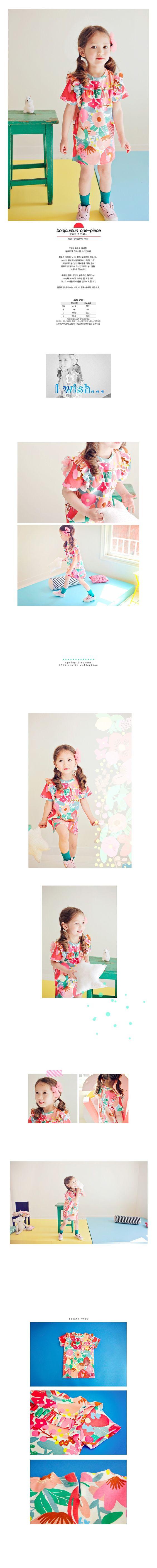 ANNIKA - Korean Children Fashion - #Kfashion4kids - Bonjour Sun One-Piece