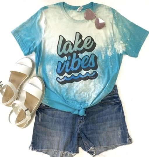 Lake Vibes Tee In 2020 Vibes Tees Tees 2020 Fashion Trends