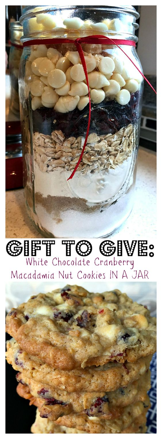 gifts homemade gifts cookies in a jar cookies cookies recipes cookies ...
