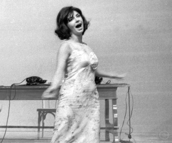 Marilia Pera in Musical_ssima 1965 TV Globo