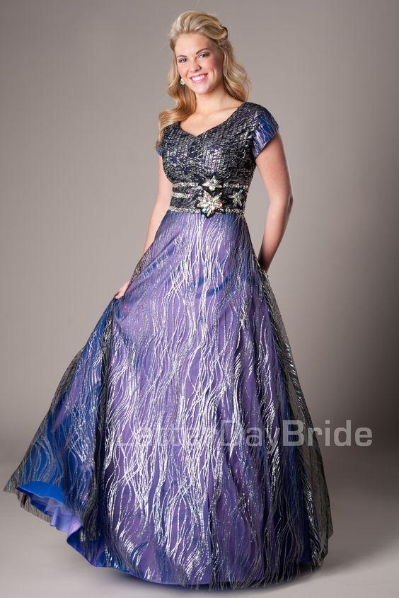 deneme: modest prom dresses