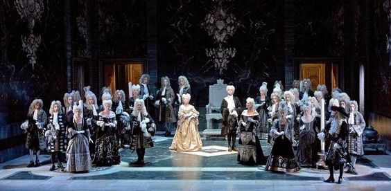 Jean Baptiste Lully's Atys (from Louis XIV's court in1676) Les Arts Florissants at BAM in 2011