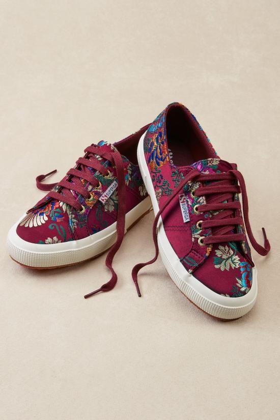 Superga Mandarin Sneakers - Floral