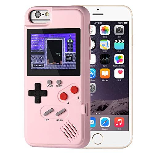 Aolvo Coque Gameboy Pour Iphone Etui De Protection Retro 3d 36