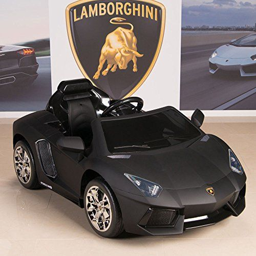 Power Wheels Cars Bentley: Lamborghini Aventador 12V Kids Ride On Battery Powered