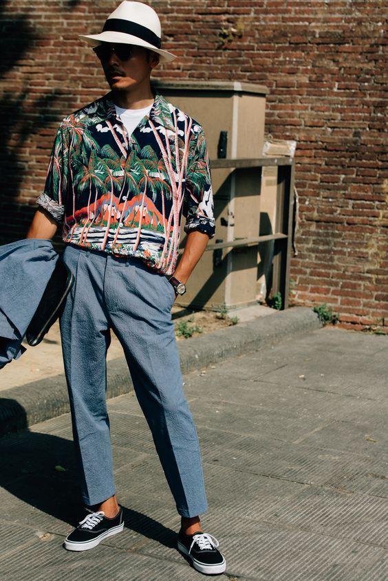 30代40代海外メンズアロハコーデCamisa Resort, Camisa Tropical Masculina, Camisa Havaiana. Macho Moda - Blog de Moda Masculina: Camisa Resort Masculina, Pra Inspirar e Onde Encontrar no Brasil?